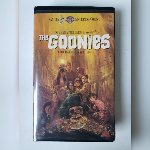 The Goonies VHS Vintage/Collectable Halloween